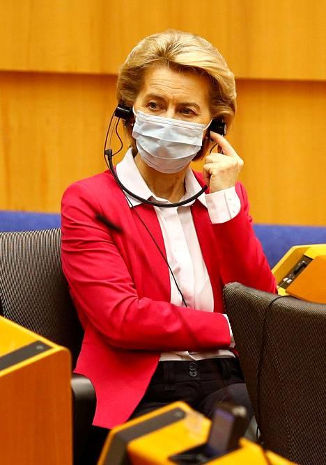 EU:n komission puheenjohtaja Ursula von der Leyen esitteli keskiviikkona EU:n jättimäistä elpymisrahastoa.