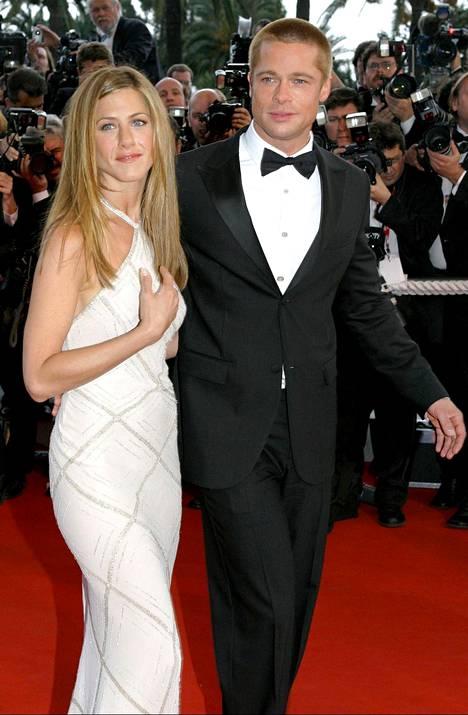 Vuonna 2004 tyylikäs pari edusti yhdessä Cannesin elokuvajuhlilla.