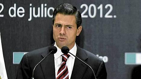 Enrique Pena Nieto on Meksikon tuleva presidentti.