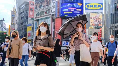 Tokiossa ja Japanissa on todettu ennätyspaljon koronavirustartuntoja.