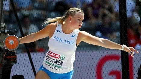 Salla Sipponen karsiutui EM-finaalista.