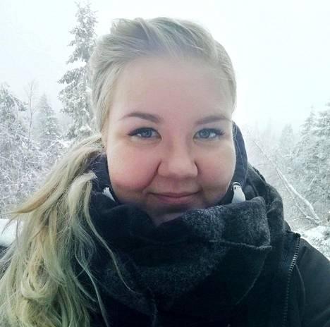 Maiju Rumpunen oli kolmatta talvea töissä Iso-Syötteellä ja tuntee talon läpikotaisin.