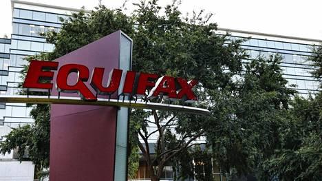 Equifax-yhtiön rakennus Atlantassa, Georgian osavaltiossa.