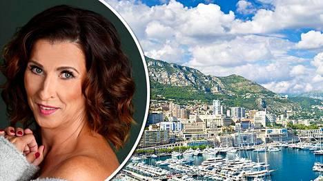 Erja Häkkisen – niin kuin monen muunkin Monacossa asuvan – ikkunoista näkyvät vuoret ja meri.