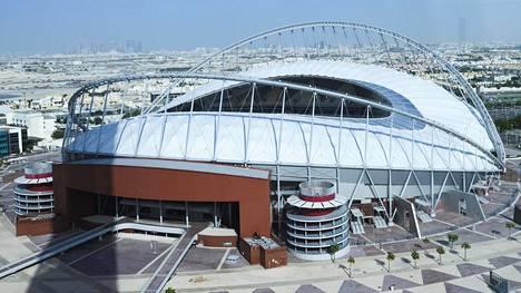 Qatarin vuoden 2022 jalkapallon MM-lopputurnauksen sijoitusottelut pelataan yleisurheilun MM-kisoista tutulla Khalifa International -stadionilla.