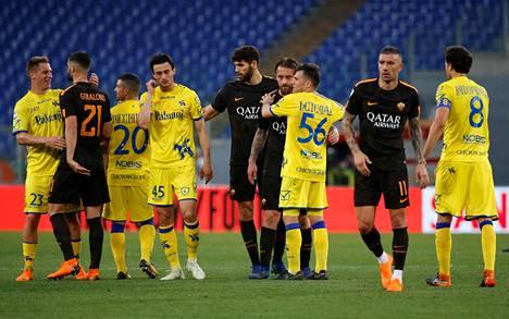 Chievo kuului viime kaudella Serie A:n keskikastiin. Joukkueen sijoittui Italian pääsarjassa 13:nneksi.