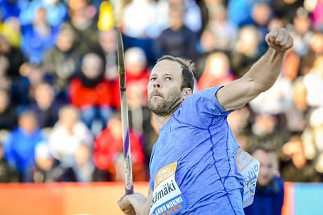 Tero Pitkämäki pohtii vielä uransa jatkoa.