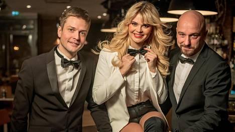 Mikael Saari, Erika Vikman ja Sami Hintsanen ovat Jean S:n uusi solistikolmikko.