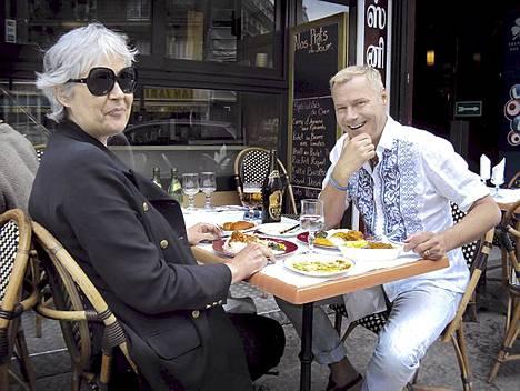 Pariisissa Jaakko Selin vierailee myös suomalaisen Estella Snellmanin emännöimässä sympaattisessa bistrossa.