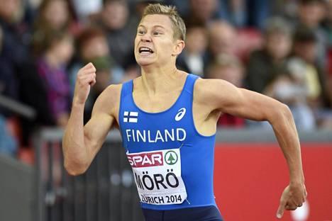 Pitkien aitojen EM-nelonen Oskari Mörö pääsee tositoimiin Rion olympialaisissa. 400 metrin aidoissa juostaan maanantaina alkueriä.