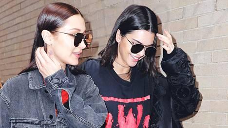 Bella Hadid ja Kendall Jenner.