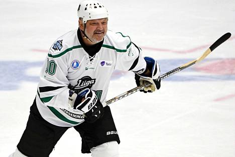 Esa Tikkanen on pelannut Suomen joukkueessa Minskin jouluturnauksessa presidentti Lukashenkoa vastaan. Kuva SM-liigan All Star -tapahtumasta syksyltä 2019.