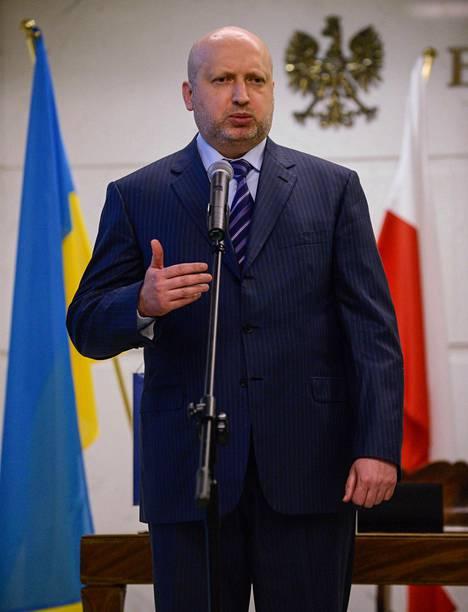 Oleksandr Turtshinov.