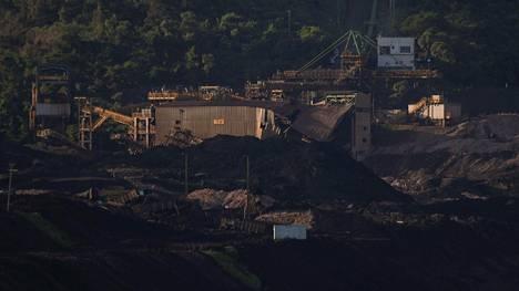 Kaivoskompleksi vaurioitui pahoin.
