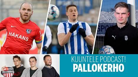 Inter ja KuPS yrittävät haastaa HJK:n Veikkausliigassa.