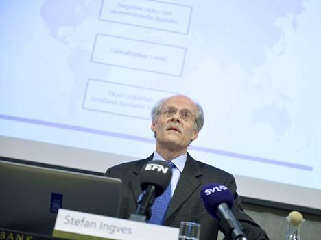Ruotsin Riksbankin pääjohtaja Stefan Ingves