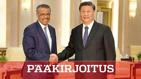WHO:n pääjohtaja Tedros Adhanom Ghebreyesus tapasi Kiinan presidentin Xi Jinpingin tammikuussa Pekingissä.