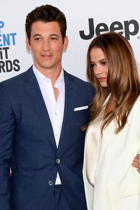 Teller on seurustellut Keleigh Sperryn kanssa vuodesta 2013 lähtien. Hän avioitui mallirakkaansa kanssa viime vuonna.