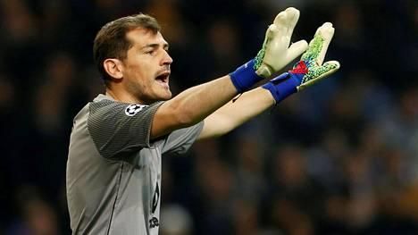 Iker Casillasin peliura on ainakin toistaiseksi ohi.