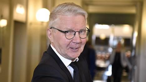 Pirkka-Pekka Petelius Helsingissä keskiviikkona 24. huhtikuuta 2019.