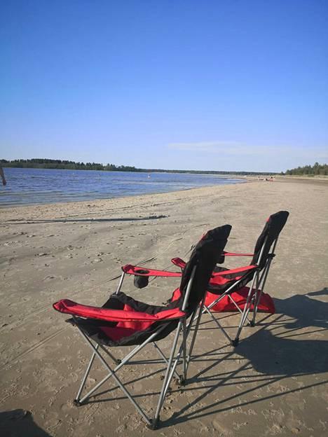 Storsand on hiljainen mutta kaunis ranta.
