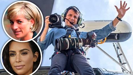 Massimo Sestini on ottanut kuvia muun muassa prinsessa Dianasta ja Kim Kardashianista.