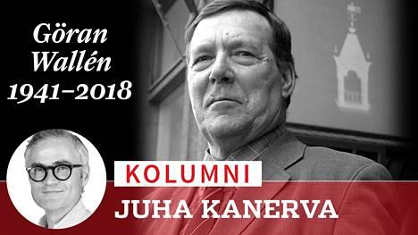 Göran Wallén teki ansiokkaan uran Hufvudstadsbladetin urheilutoimituksessa.