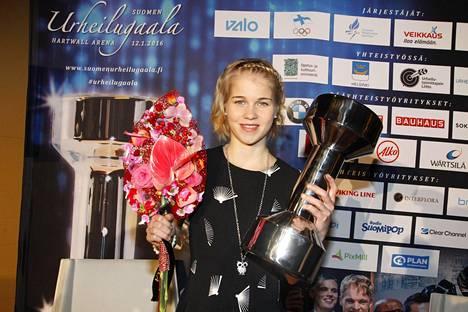Alisa Vainio oli viime syksyn juoksijasensaatio.