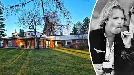 Keke Rosbergin lapsuuden koti Villa Rosberg on myynnissä 159 000 euron hintaan.