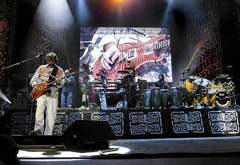 Carlos Santana Helsinki Hartwall Areena 2003
