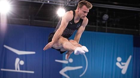 Dylan Schmidtin tyylinäyte olympiafinaalista.