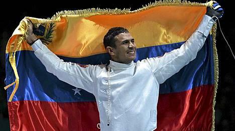 Ruben Limardo päätti Venezuelan kuivan kauden.