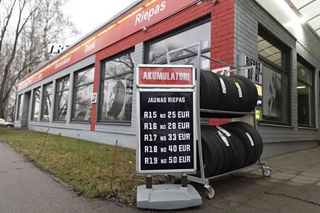 Halvimpia renkaita ostavat lähinnä paikalliset asiakkaat.