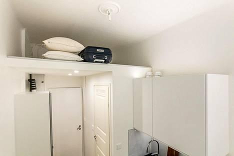 Remontissa asuntoon tehtiin parvi.