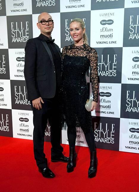 Anne ja Joni Kukkohovi ovat olleet naimisissa 14 vuotta.
