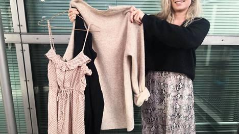 Kokeile itse: katso vaatekaappiisi ja mieti kunkin vaatteen kohdalla, kuinka monta kertaa se on todellisuudessa päätynyt yllesi.