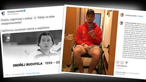 Jääkiekkopuolustaja Ondrej Buhtela sairasti erittäin harvinaista sydänsyöpää.