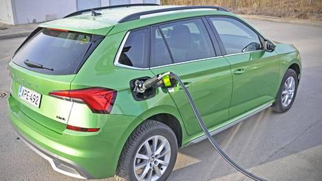 Skoda Kamiq 1.0 TSI G-Tec on uusimpia kaasuautoja Suomen markkinoilla.