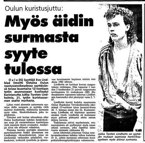 Ilta-Sanomat 6.8.1986.