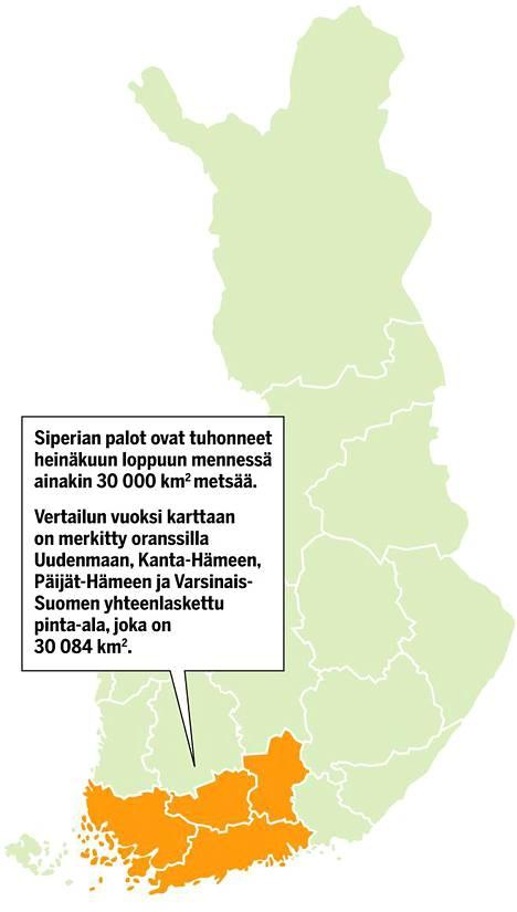 Tutkijat Varoittavat Katastrofista Siperiassa Roihuavat Valtavat