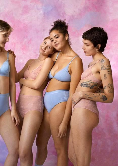 Brändi on käyttänyt perinteisestä mallikuvastosta poikkeavia vartaloita jo pitkään.