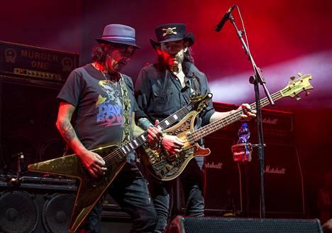 Motörheadin viimeinen keikka Suomessa louhittiin läpi 6.12.2015. Lemmy kuoli kolmen viikon päästä.