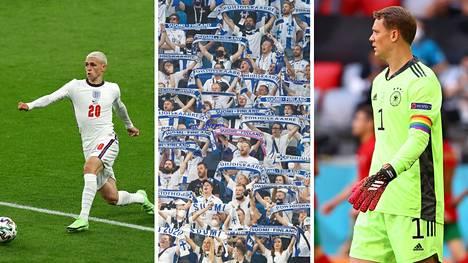Aivan ihanan ysäri tukkamuoti, Suomen fanit ja Manuel Neuerin kapteeninnauha. Siinäpä pari puhuttanutta juttua EM-kisojen alkulohkovaiheen varrelta.