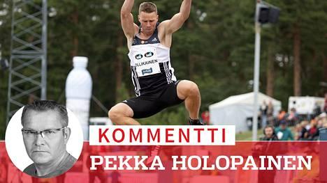 Roni Ollikainen on päässyt kelpo vireeseen.