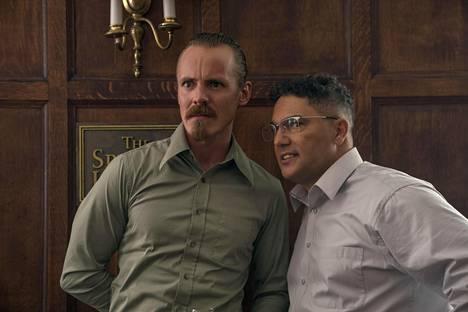 Spike Leen ohjaamassa Blackkklansman-elokuvassa Jasper Pääkkönen näyttelee yhtä elokuvan julmista rasisteista.