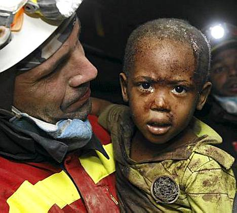 Kaksivuotiaan Redjesonin pelastuminen on pieni ihme
