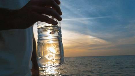 Vesipullo on keventäjän kaveri.