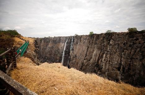 Vesiputous kärsii vuosisadan pahimmasta kuivuudesta.