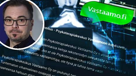 Rikoskomisario Marko Leposen mukaan Vastaamo-tutkinta etenee koko ajan.