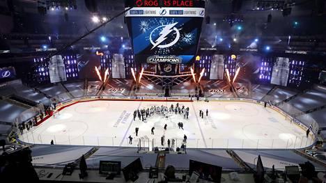 Edellinen NHL-kausi päättyi syyskuun lopussa Tampa Bayn mestaruusjuhliin.